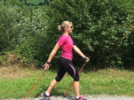 Fit in den Frühling mit Nordic Walking