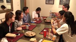 Diskussion der STUDAID Studenten