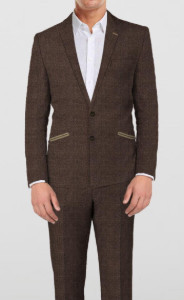 Sportive Brown - 2 piece - By The Tailor Network