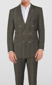 English Brown Suit - Sportive Brown - 2 piece - By The Tailor Network