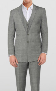 Classic Grey - 3 Piece Suit - Sportive Brown - 2 piece - By The Tailor Networ