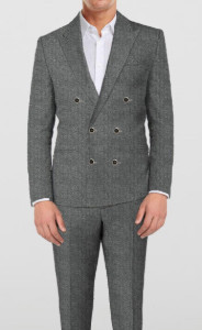 Modern English Grey Suit - by The Tailor Network