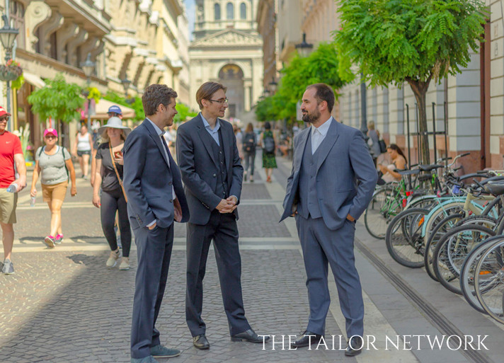 All three suits made by The Tailor Network