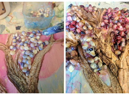 Building an Enchanted Forest- Mini Mixed Media Exploration
