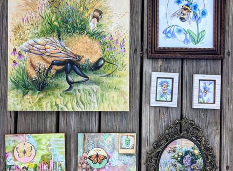 Gallery Wall- Pollinators