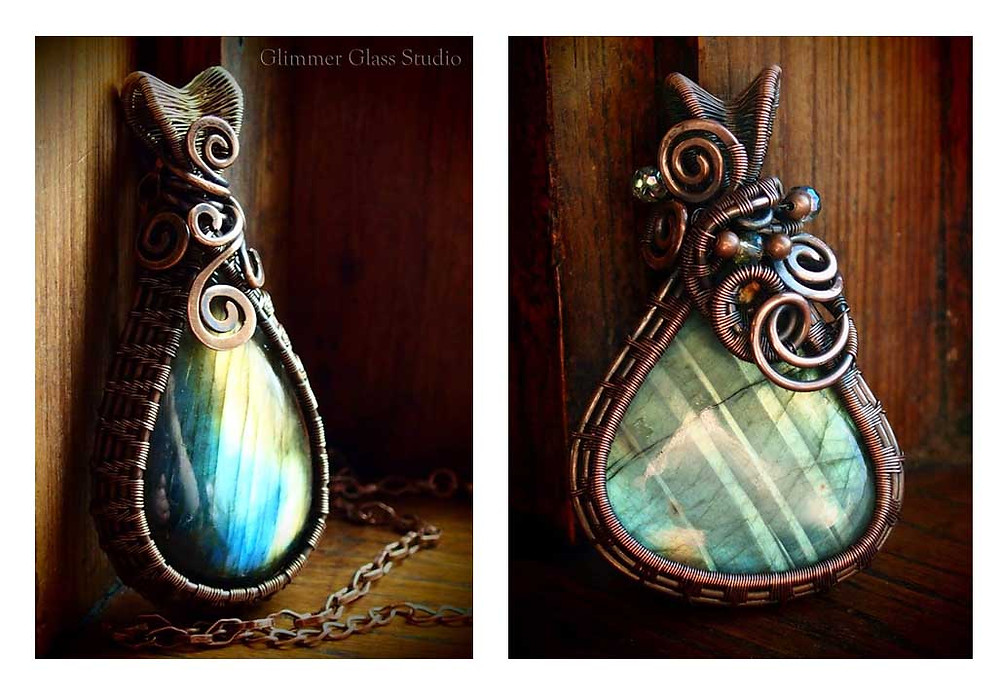 Glimmer Glass Studio Pendants