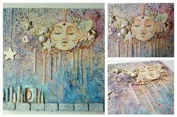 Lady moom collage