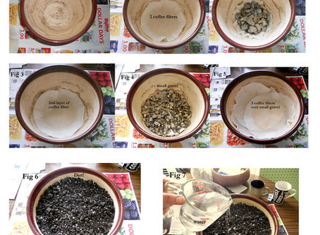 How to Prepare Your Fairy Garden Planter (potting and soil prep)
