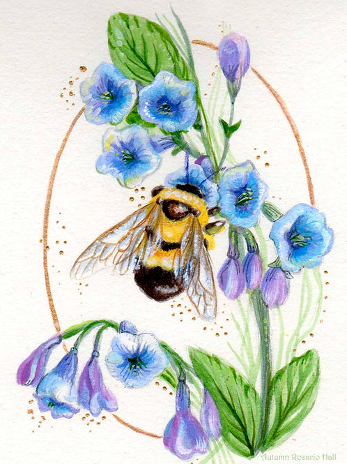 bumblebee and Bluebells