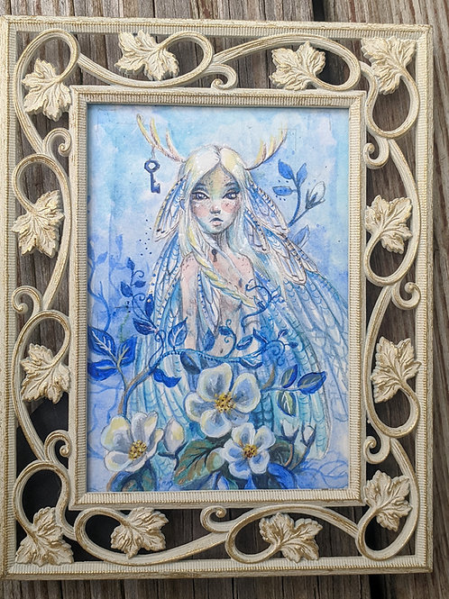 Keeper of the Wings - Original Painting