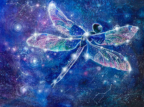 The Dragonfly Constellation- Original and Prints
