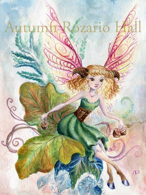 Faerie of the Oaks- Prints and Original