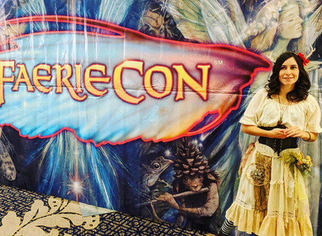 An Artist's Experience at Faerie Con 2018