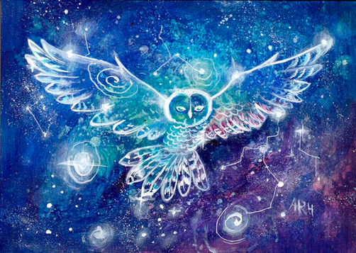 The Owl Constellation; the Journey Constellation