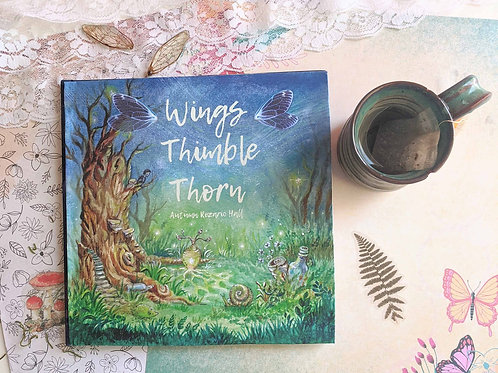 Wings Thimble Thorn- Book Pre-order