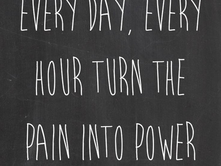 Turn your pain into power with Hypnotherapy