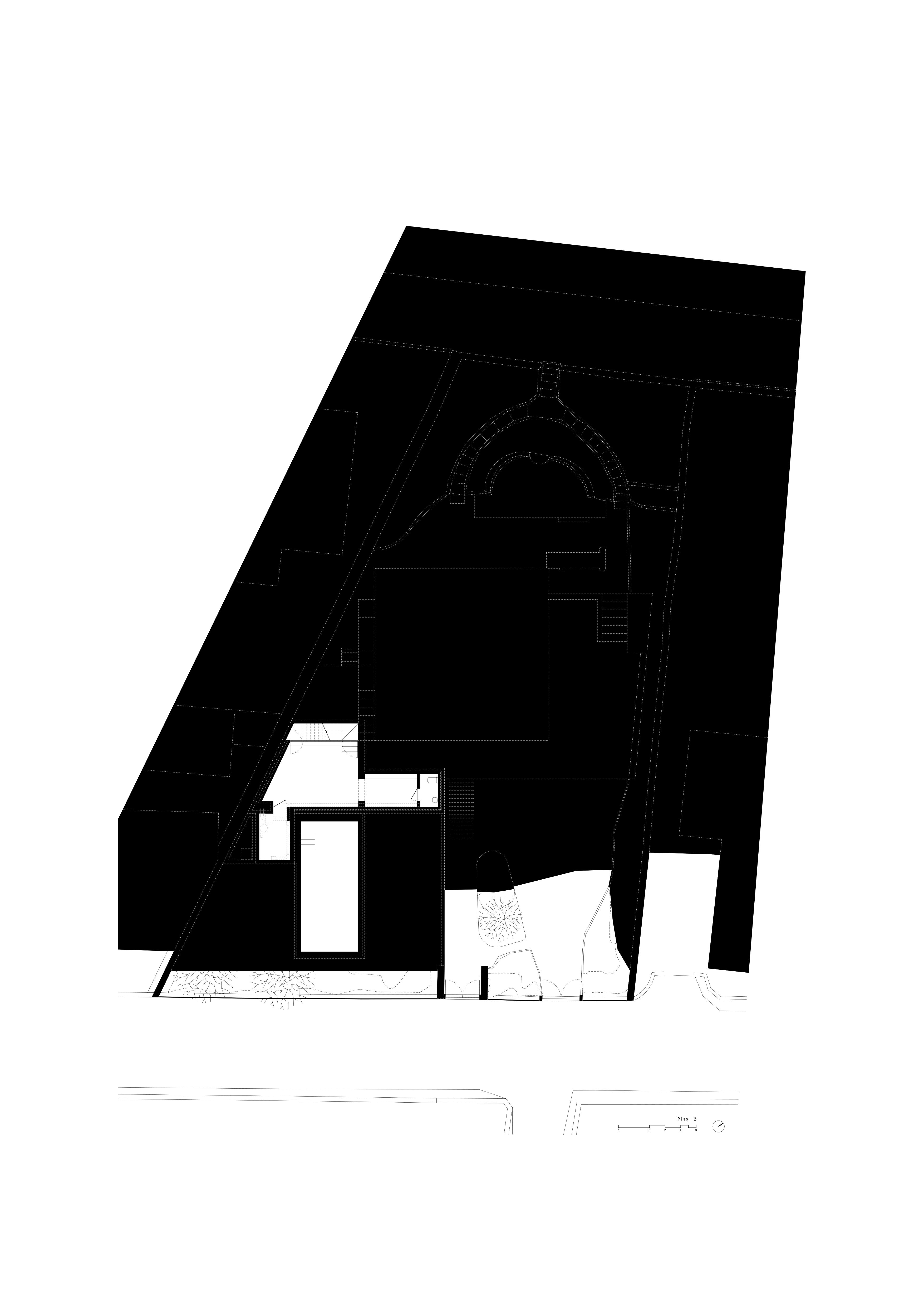 00 ARCHDAILY_Casa Alexius_Piso -2