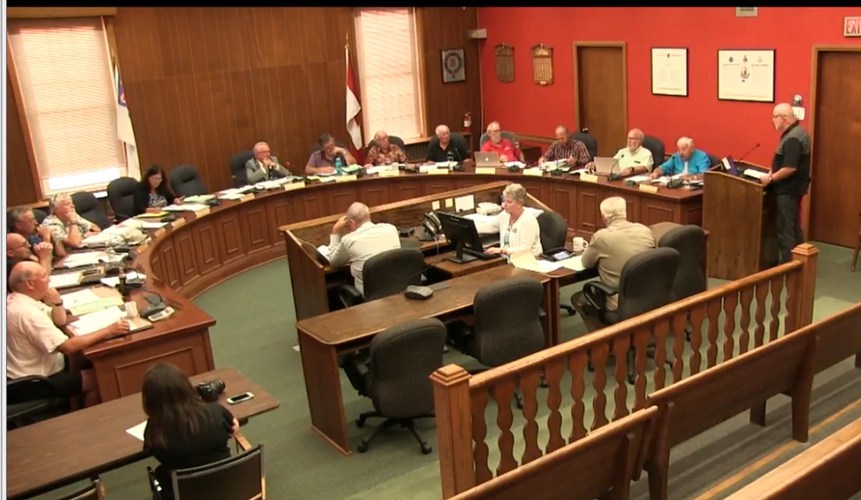 August 28 Deputation to Council