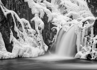 Croton Dam in Winter
