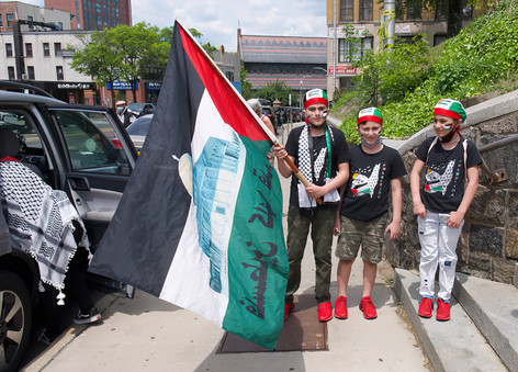 Rally for Palestine, Yonkers, NY