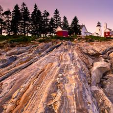 Ocean View at Pemaquid Point, Maine