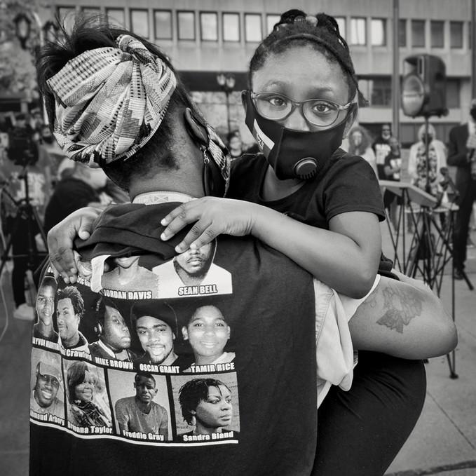 """""""I See you,"""" Black Lives Matter, White Plains, NY"""