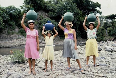 Nicaraguan Women, Rio Escondido