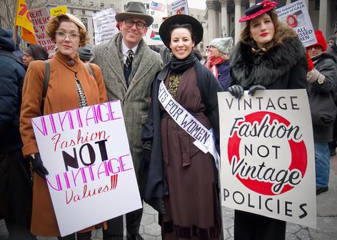 Celebrating the Women's Vote, Foley Square, NYC