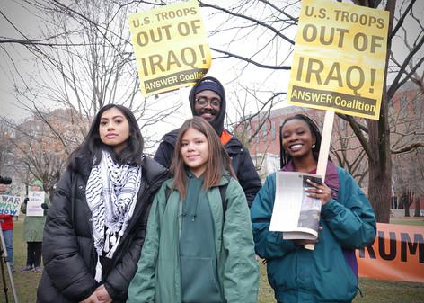 Rally at White House, Washington, DC
