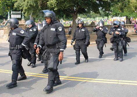 Police Deploying, Washington, DC