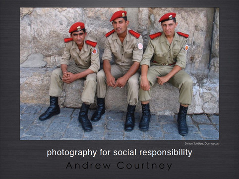 Photography for Social Responsibility