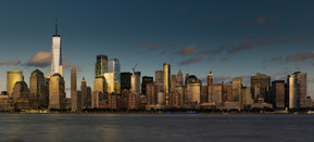 Financial District from New Jersey