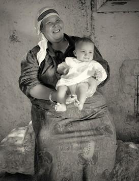 Sameeha Jibril Kanambo and Baby
