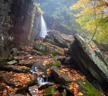 Upstate NY Waterfall