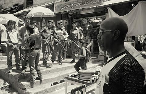 Ali Jiddah and IDF at Damascus Gate
