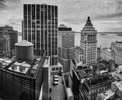 Above the Financial District, NYC