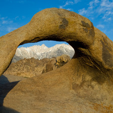 Alabama Arch, Viewing Mt. Whitney