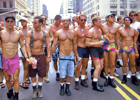 Gay Pride Day Marchers, NYC