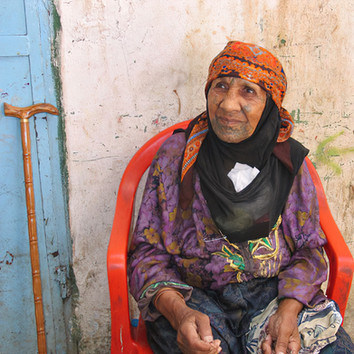 '48 Palestinian Refugee, Shatila Camp, Lebanon