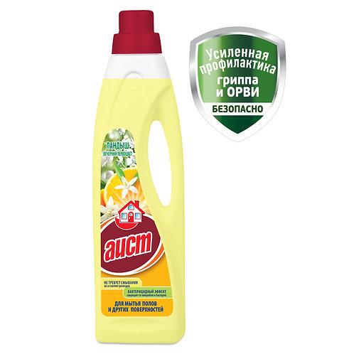 Средство для мытья полов Аист Ландыш и вечерний первоцвет, 950 мл