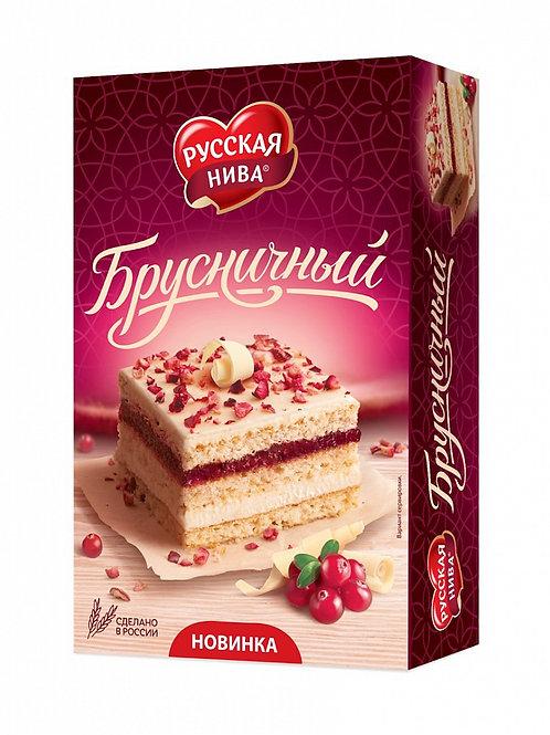 """Торт """"Русская нива"""" брусничный, 500 г"""