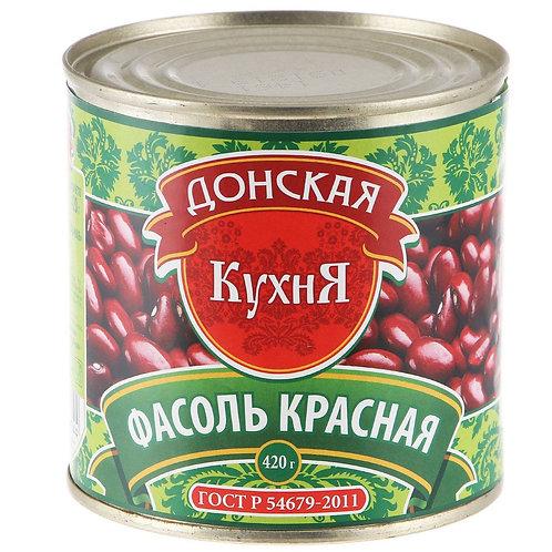 """Фасоль """"Донская кухня"""" красная, 420 г"""