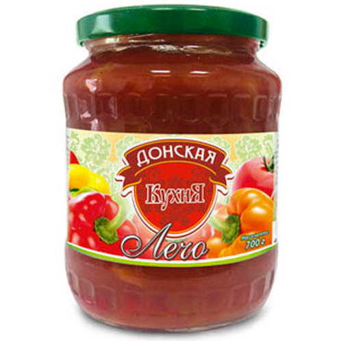 """Лечо """"Донская кухня"""", 700 мл"""