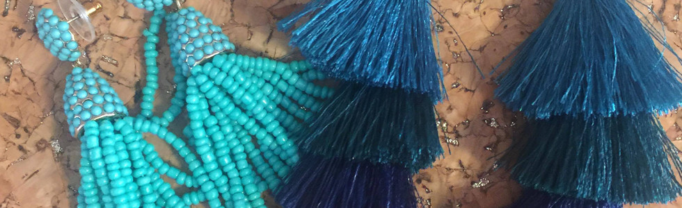Tassels! Jewel tones are in.