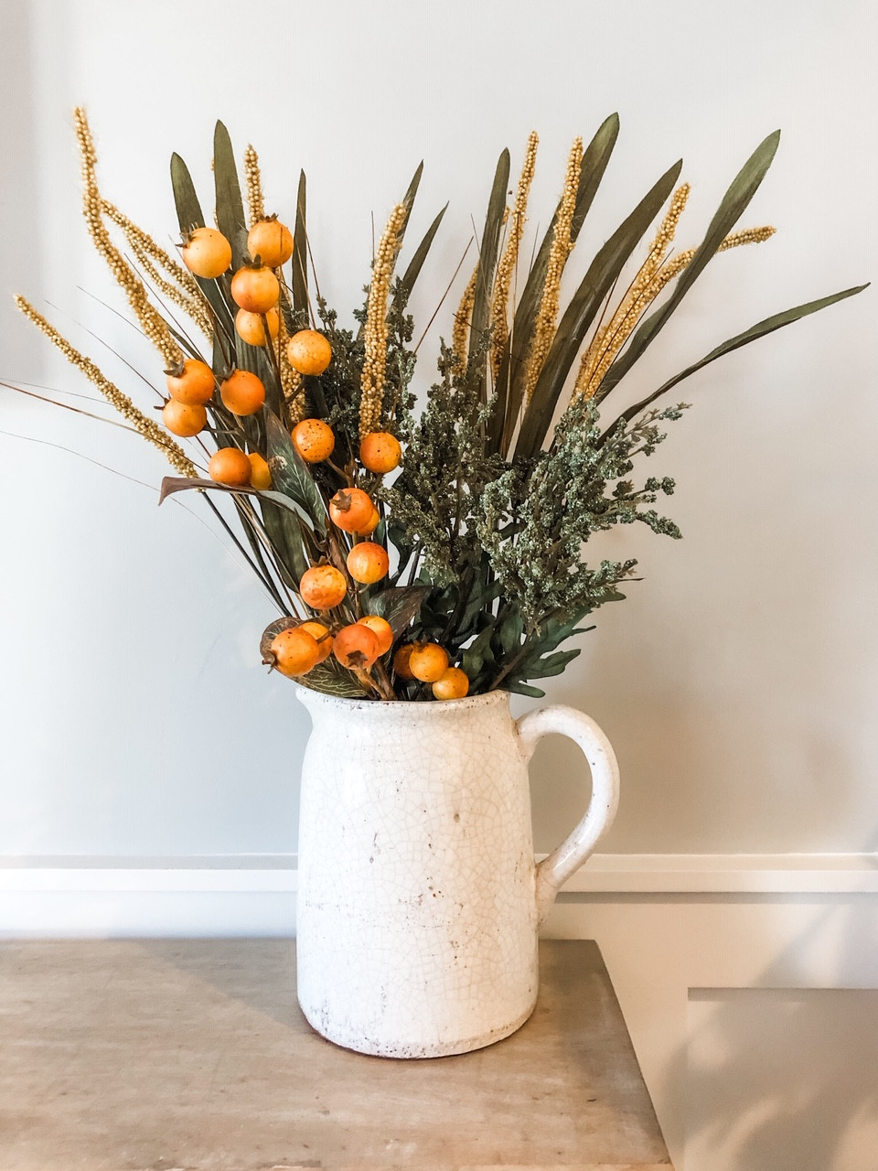 Jennifer Janeway Designs - fall faux decor