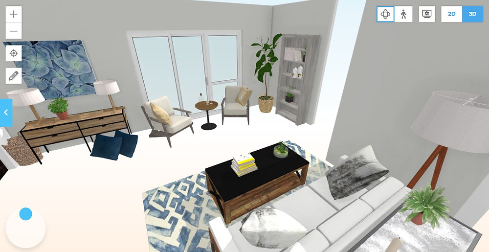 An example of a 3D view of the design - Jennifer Janeway Designs