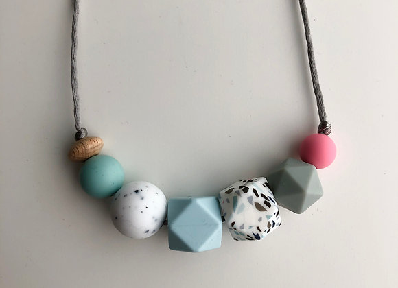 Geo Mix No.4 Teething Necklace