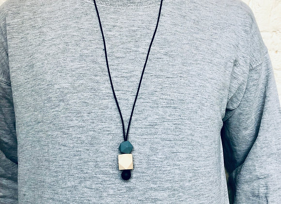 Teething Pendant for Dads (style A)