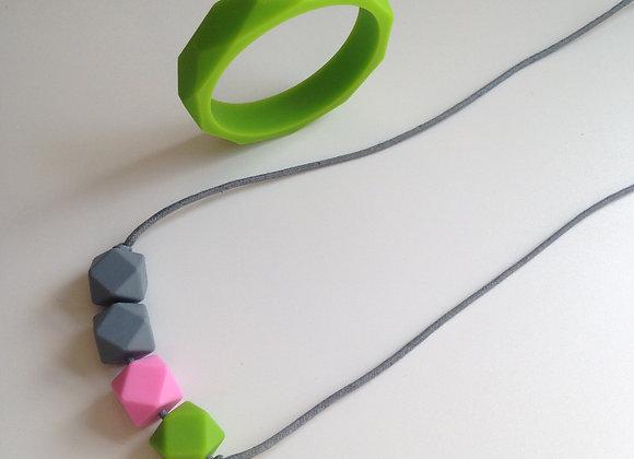 Apple Jack teething jewellery set