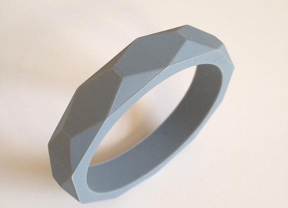 Grey teething bangle